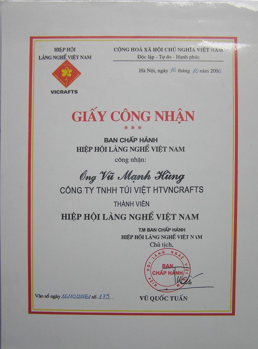 thanh vien hiep hoi lang nghe